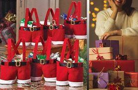 £4 instead of £8.99 for one Santa pants gift bag, £7 for three gift bags - save up to 56%