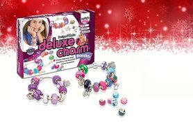 £6 instead of £20 (from Interplay) for a kids' deluxe charm bracelets kit - save 70%