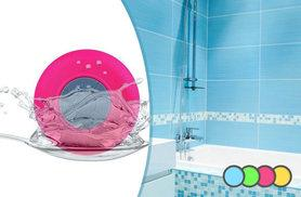 £7.99 instead of £24.99 (from Zoozio) for a Bluetooth shower speaker in a choice of four colours - shake it in the shower and save 68%