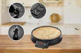 £29.99 for a Russell Hobbs crêpe maker, £39.99 for a fondue maker, £49.99 for a multi-raclette, £54.99 for a griddle or £165 for the full set from Wowcher Direct!