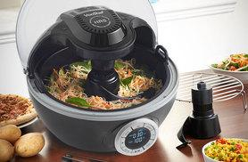 £49.99 (from Domu) for a 10-in 1 6L VonShef Cook Robot multi cooker and tongs, spoon, spatula and steam rack!