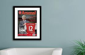 £12 (from Personalised Football Gifts) for a personalised football magazine print, £22 for two or £32 for three - choose from 14 teams and save up to 60%