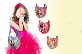 £4.99 instead of £14.99 (from Treats for Kids) for a Disney Princess, Frozen, Minnie Mouse or Sofia The First heart-shaped lunch bag - save 67%