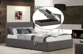 £125 for a single fabric ottoman storage bed, £139 for a double and £159 for a king size bed, or from £205 to include memory foam mattress - save up to 68%