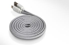 £4 (from Aven Republic) for a three-metre braided iPhone night 8-pin lightning cable