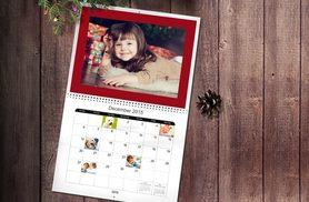 £6 instead of £19.99 (from Truprint) for a personalised A3 photo calendar - display your favourite photos and save 70%