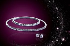 £12 instead of £120 (from Your Ideal Gift) for a crystal cubic zirconia tri set - save 90%