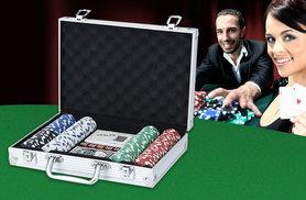 £14.99 for a 208-piece poker set with a case from Wowcher Direct