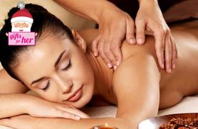 £12 instead of up to £34 for a one-hour festive pamper package inc. facial and back, neck and shoulder massage at LS Beauty, Ripley - save up to 65%