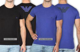 £20 instead of £50 for a men's Emporio Armani T-shirt in sizes S-XL - choose from 11 styles and save 60%