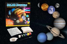 £6 instead of £24.99 (from Urshu) for a Solar System moulding set - combine creativity with astronomy and save 76%