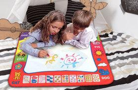 £4.99 instead of £24.95 (from Snap One Up) for a small magic doodle mat, £8.99 for large - save up to 80%