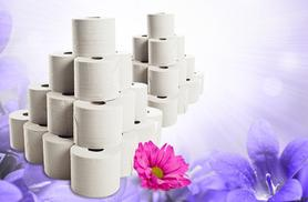 From £7.99 (from Groundlevel.co.uk) for a jumbo pack of 40 luxury toilet rolls, £14.99 for 80 and £23.99 for 120 - save up to 73%