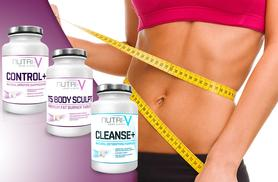 £15 instead of £95 for a Nutri-V weight management package - shape up and save 84%