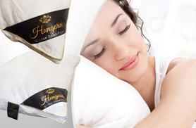 £19.99 instead of £79.99 (from Groundlevel) for a 100% Hungarian goose down pillow, £38.99 for two - save up to 75%