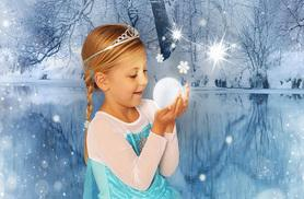 £9 instead of up to £145 for a fairy and elf or Frozen-inspired photoshoot for up to two kids including prints and a goody bag at Andreas Photography - save up to 94%