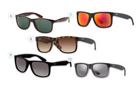 From £56 for a pair of Ray-Ban sunglasses - choose from 19 styles including Wayfarers, Aviators and more and save up to 46%