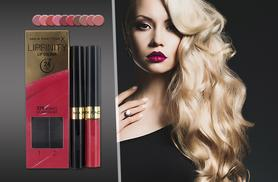 £6.99 instead of £11 for a MaxFactor Lipfinity lip colour from Wowcher Direct - save 36%