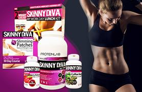 £39 instead of £168.99 (from Skinny Diva) for a five-piece weight management mega pack including tummy patches, raspberry ketones and more - save 77%