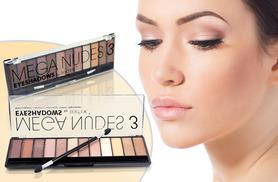 £3.99 instead of £19.99 (from Save Shop Spend) for a Technic Mega Nudes eye shadow palette - save 80%