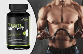 £7 instead of £39.99 (from Pro Muscle Products) for a one-month* supply of Testo Boost capsules or £17 for a three-month* supply - save up to 82%