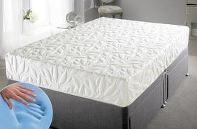 £139 for a single GelFlex memory foam mattress, £179 for a double, £189 for a king, £199 for a superking - save up to 72%