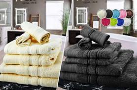 £12 instead of £66 (from Fusion Online) for a six-piece luxury Egyptian cotton towel bale, £14.99 for a ten-piece set - choose from 10 colours and save 82%