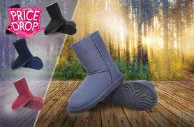 £35 instead of £145.01 for a pair of premium sheepskin and merino boots - choose from five colours and save 76%
