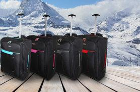 £10 instead of £43.99 (from Trendy Look) for cabin-approved wheelie hand luggage - choose from seven designs and save 77%