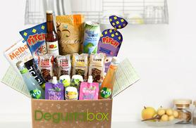 £3.99 instead of £10 (from Degustabox) for a one-month food hamper - try something new and save 60%