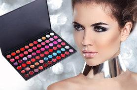 £4.99 instead of £13 for a 66-piece professional lip gloss palette - save 62%