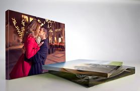 £3.99 instead of £29.99 (from Perfect Picture Canvas Prints) for a personalised Valentine's Day A3 canvas print - save 87%