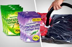 £3.99 instead of £19.99 (from Urshu) for two scented vacuum storage bags, £5.99 for four or £7.99 for six - save up to 80%