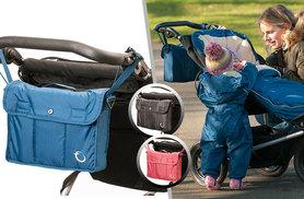 £9.99 instead of up to £18.95 (from Hippychick) for a buggy organiser - choose black, blue or red and save up to 47%