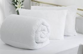 From £8.99 (from Groundlevel) for a single winter duvet, from £10.99 for a double or from £12.99 for a king  - snooze in style and save up to 67%