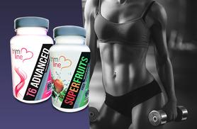 £10 instead of £76.99 (from Pro Muscle Products) for a one-month* supply of superfruits blend and T6 'fatburner' capsules - shape up and save up to 87%