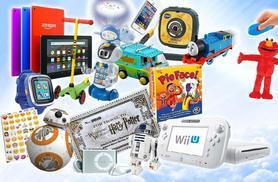 £10 for a Mystery Kids' Deal - products include tickets to Harry Potter Warner Bros. Studio Tour, Star Wars R2D2, Sphero Droid, VTech smart watch, Y-Phone and more!