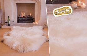 £39 instead of £79 (from Sheepys) for a large sheepskin rug, £59 for an extra-large - keep those tootsies toasty and save up to 51%