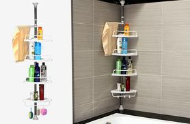 £12.99 instead of £29.99 (from Funky Buys) for a four-tier telescopic shower caddy - save 57%