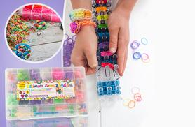 £3.99 instead of £15.99 for a 4,200pc ultimate Loom Band kit from Funky Monkey Gift Shop - save up to 75%