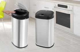 £32.99 instead of £193 (from Swan Products) for a 42-litre auto-sensor bin - choose from matte or polished steel finish and save 83%