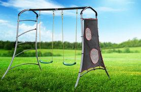 £59 instead of £149.01 (from Yabe Trading) for a garden swing set - save 60%