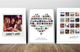 £2.99 (from Prints with Feelings) for an A4 Polaroid collage print, £3.99 for an A3 print - add a personal touch to gift giving and save up to 79%