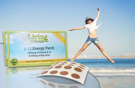 £3.99 (from Real Protein) for a two-month supply* of B-12 'energy' patches, £6.99 for a four-month supply*, £8.99 for a six-month supply* - save up to 81%