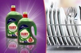 £9.99 instead of £29.99 for two 2.5L Fairy washing up liquid bottles - save 67%