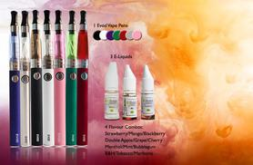 £9.99 instead of £34.96 (from GoHookah) for an EVOD eGo e-cigarette pen with three eLiquids - save 71%