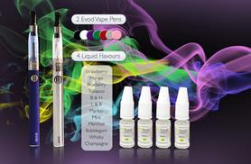 £18 instead of £59.94 (from GoHookah) for two EVOD eGo shisha pens with four eLiquids - save 70%