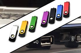 £3.99 instead of £19.99 (from EF Mall) for a 32GB USB metal flash memory stick – choose between seven colours and save 80%