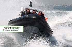 £18 instead of £45 for a one-hour RIB boating experience, £22 for a 90-minute extreme RIB boating experience with Seadogz, Southampton - save up to 60%