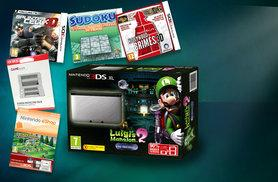 £150 for a Nintendo 3DS XL with five games and a screen protector from Deals Direct